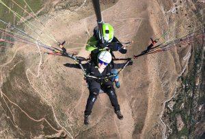 Despegue de parapente - Cerro de los Majojos - Intense Flight