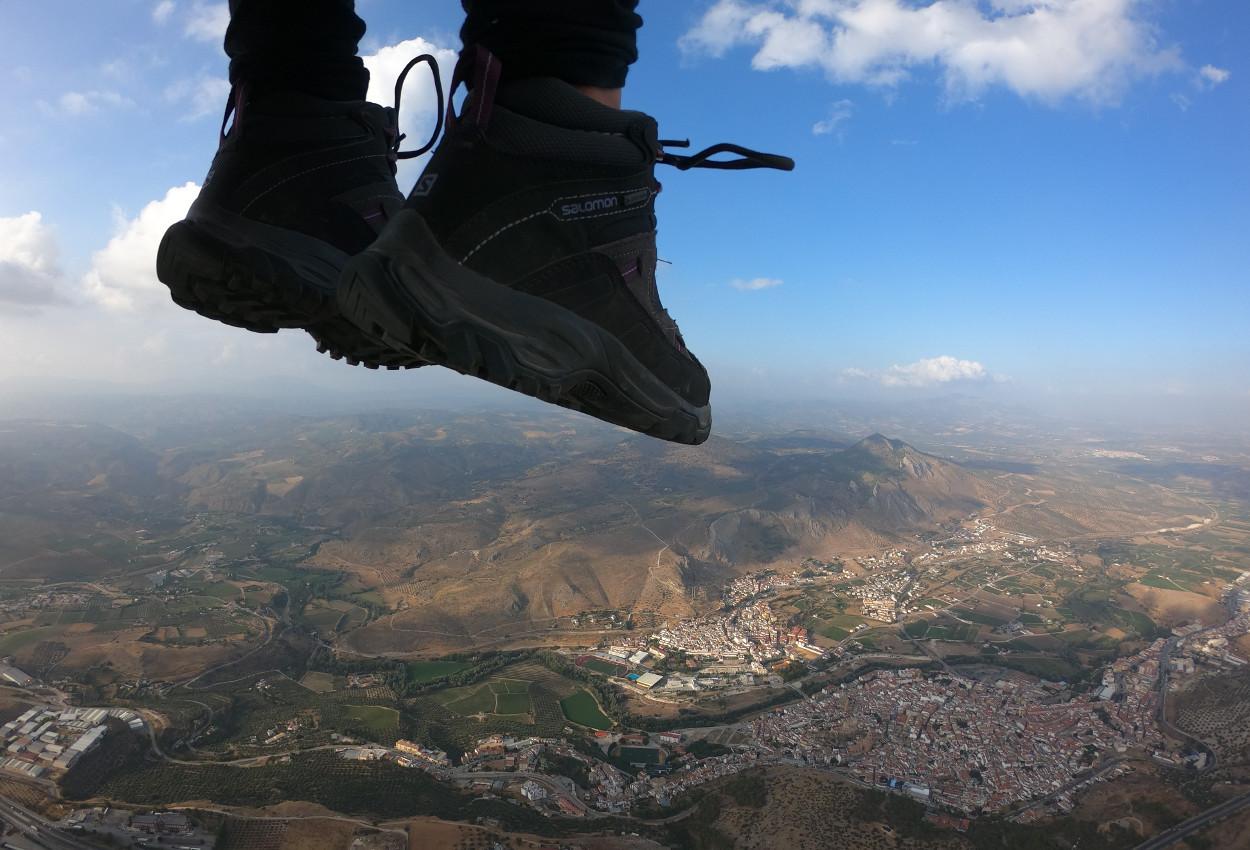 Loja bajo tus pies - Volando en Parapente Biplaza