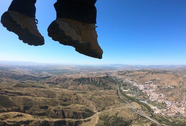 Valle del río Genil - Despegando los pies del suelo