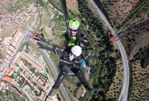 Viendo desde el aire Cenes de la Vega - Intense Flight