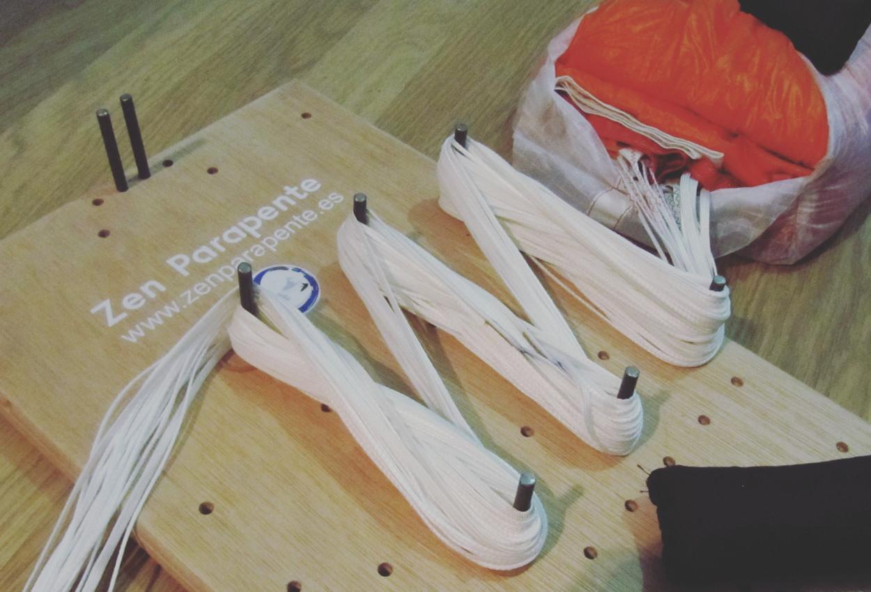 Plegado de paracaidas PDA, Cuadrado, Rogallo - Zen Parapente