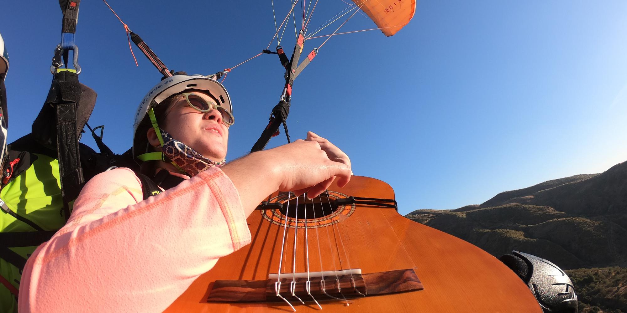 Blog - Expresion de libertad - Musica y vuelo libre