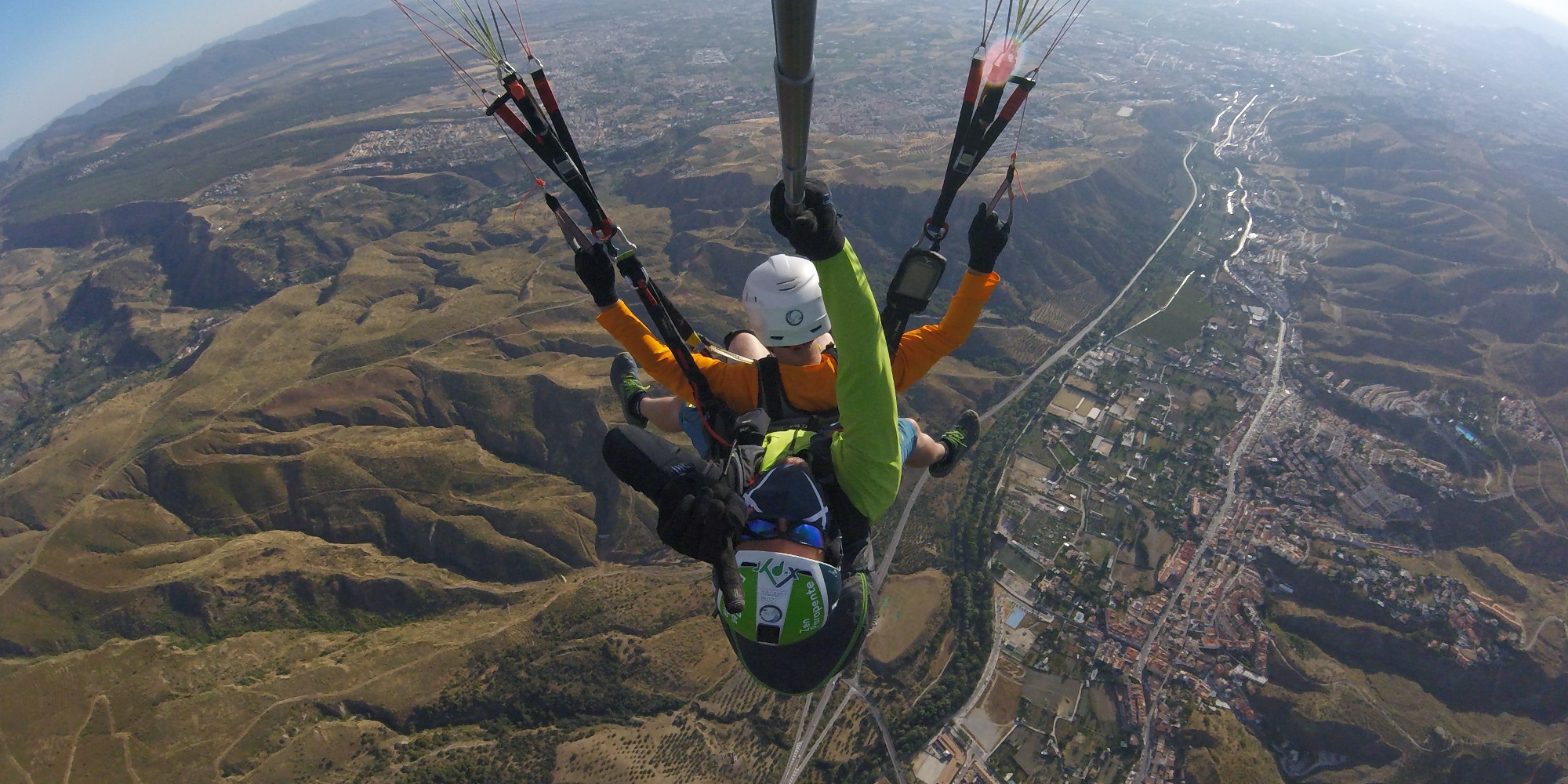 Blog - Valle de Cenes de la Vega - Pilotaje de pasajeros